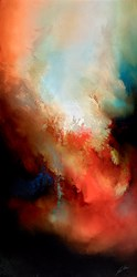 Bright Burn by Simon Kenny -  sized 24x48 inches. Available from Whitewall Galleries